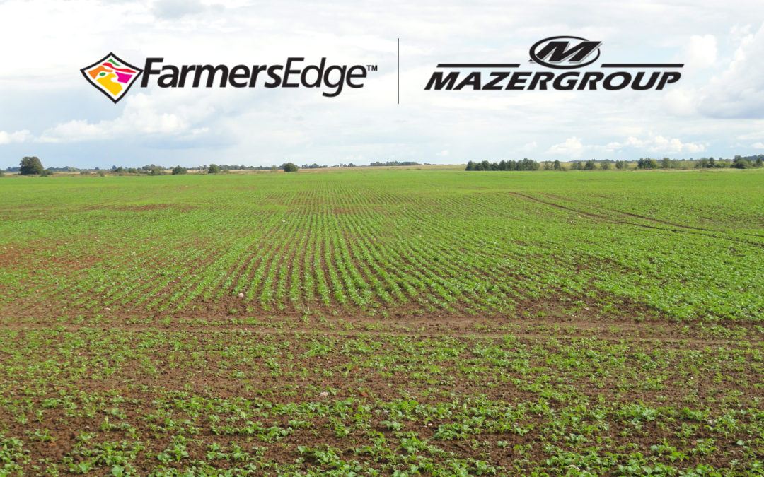 Farmers Edge Partners with Mazergroup, North America's Largest New Holland Provider, to Expand Precision Agriculture Services in the Canadian Prairies