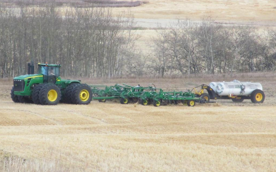 Anhydrous Ammonia Applications in Wet Soils