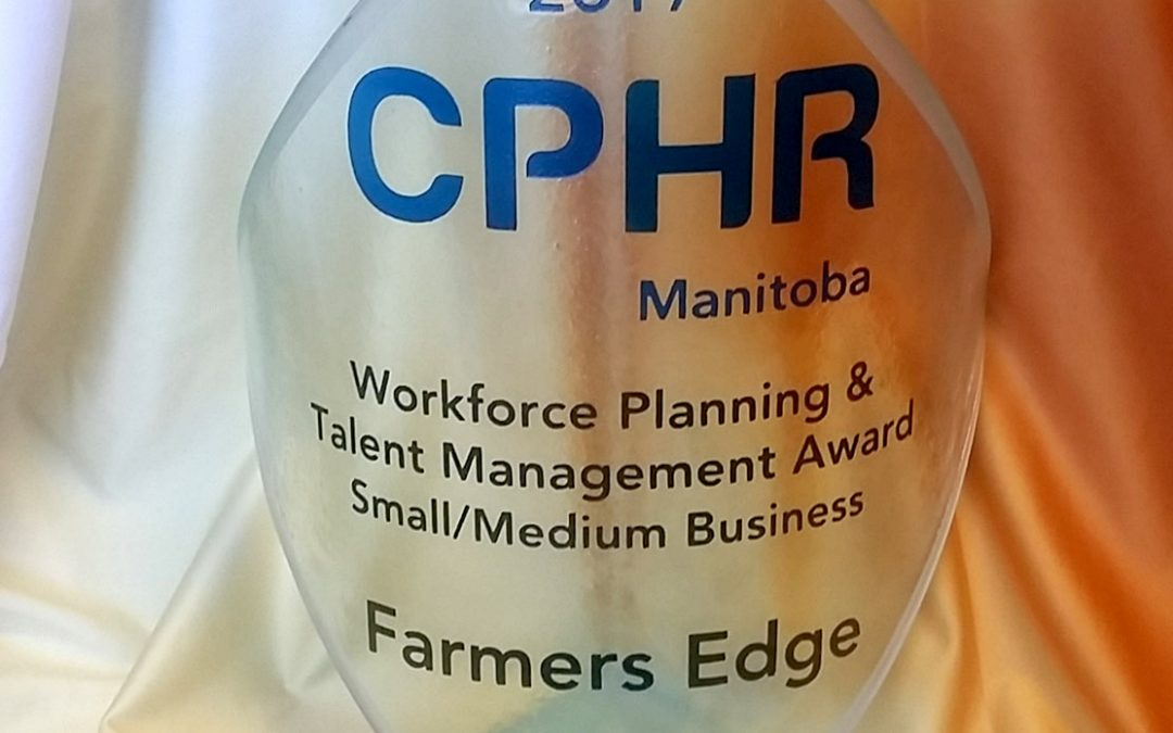 Farmers Edge Awarded for Workforce Planning and Talent Management