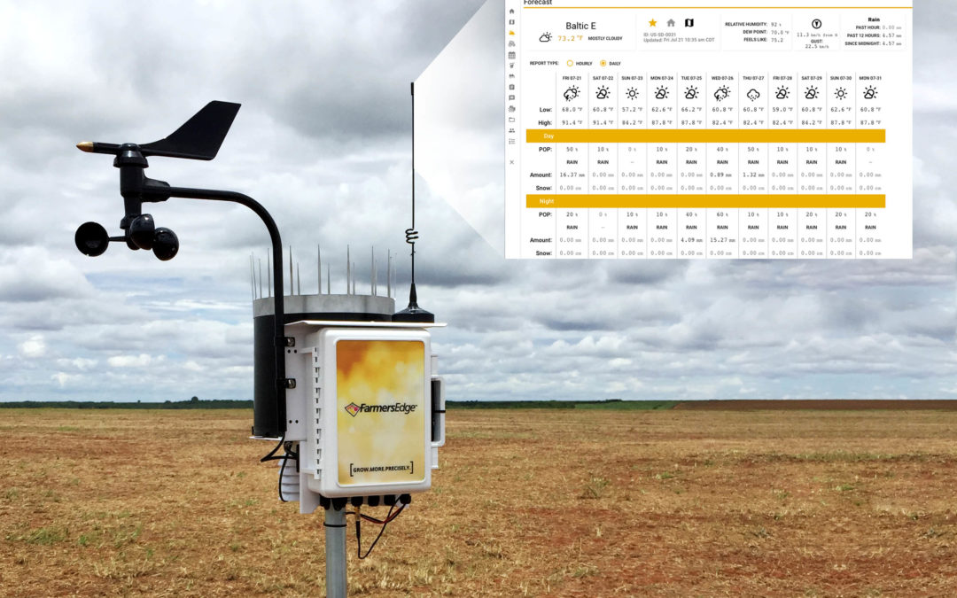 How Field-Centric Weather Data Improves Crop Staging Accuracy