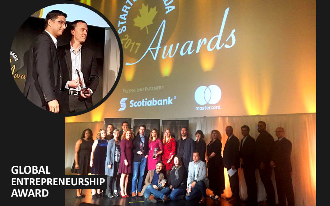 Farmers Edge wins Global Entrepreneurship Award from Startup Canada