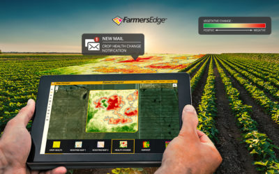 Farmers Edge Releases the Industry's First Automatic Crop Health Change Detection Tool Highlighting the ROI of High-Resolution Satellite Imagery