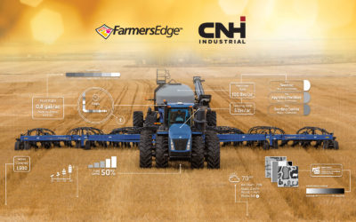 CNH Industrial and Farmers Edge Announce Multi-Year Strategic Partnership