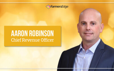 Farmers Edge Expands Leadership Team with Chief Revenue Officer, Aaron Robinson, to Fuel Next Stage of Growth