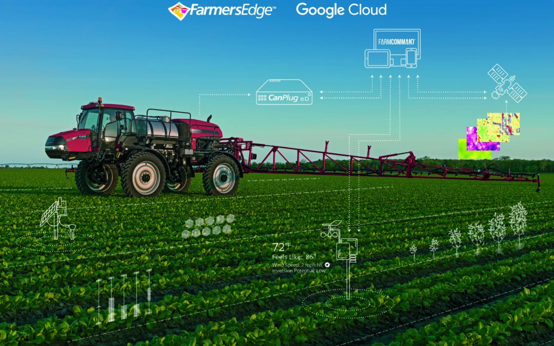 Farmers Edge Partners with Google Cloud to Digitally Transform Agriculture